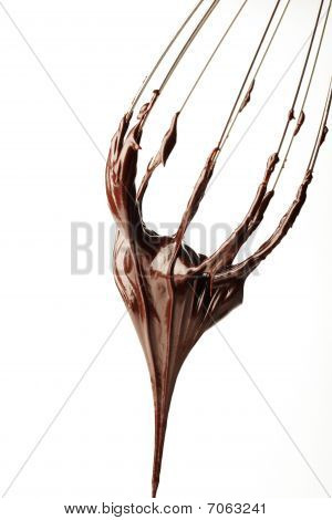 Whisk With Chocolate