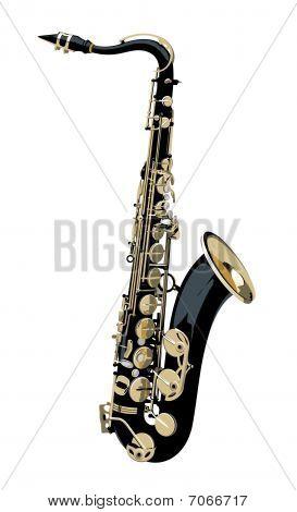 Isolated Saxophone