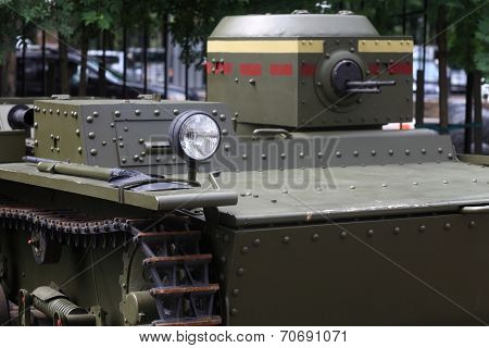 View Of Tank