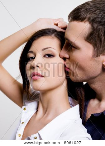 Portrait Of Beautiful Sexual Couple