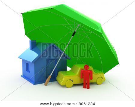 House auto perosn umbrella