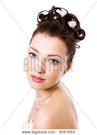 Attractive  Bride