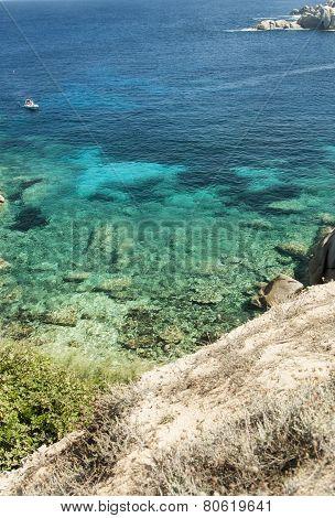 Wonderful Sea In Capo Testa