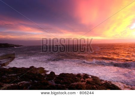 Copy of Depoe Bay Sunset