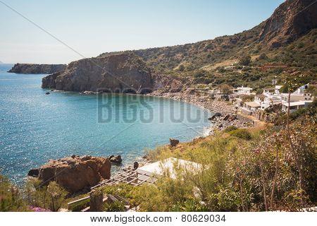 Beach Of Panarea