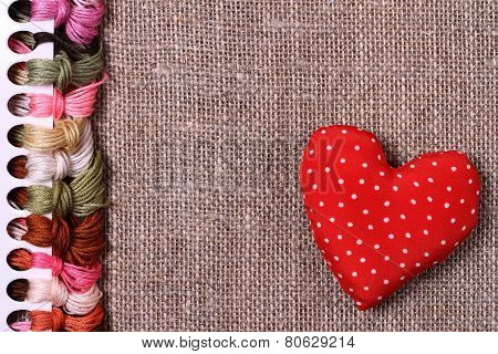 Background, cross-stitch