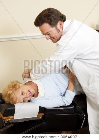 Patient Enjoys Chiropractic Care