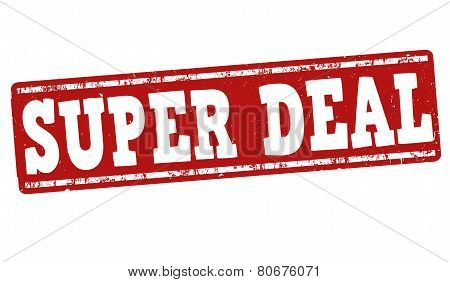 Super Deal Stamp
