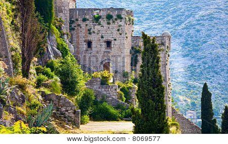 Klis - Medieval Fortress In Croatia
