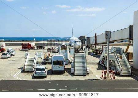 Aircraft Ready For Loading