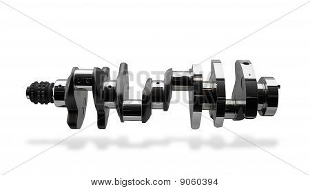 Crankshaft, part of internal combustion engine