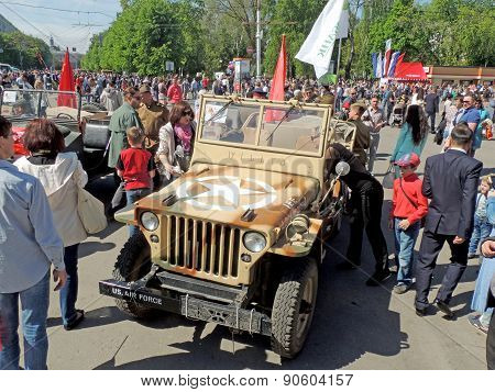 Car Of World War Ii Lend-lease Willys Mb