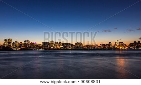 Montreal City In Autumn, Canada