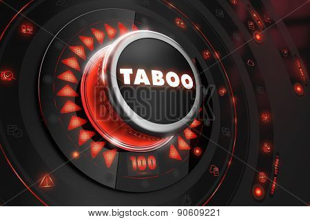 Taboo Controller on Black Console.