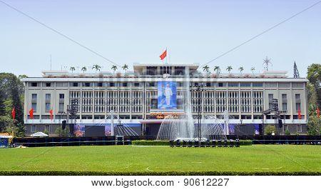 Reunification Palace, Saigon Vietnam