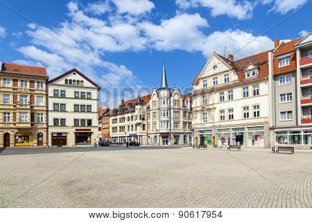 Famous Baroque Market Place In Gotha