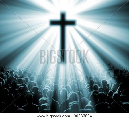 Christian religion background