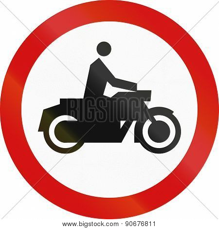 No Motorcycles In Poland