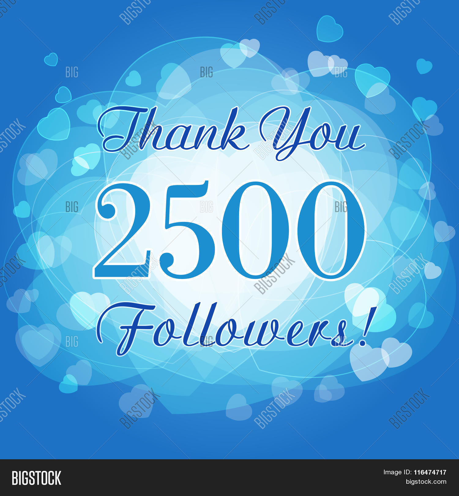 Thank You 2500 Vector Photo Free Trial Bigstock
