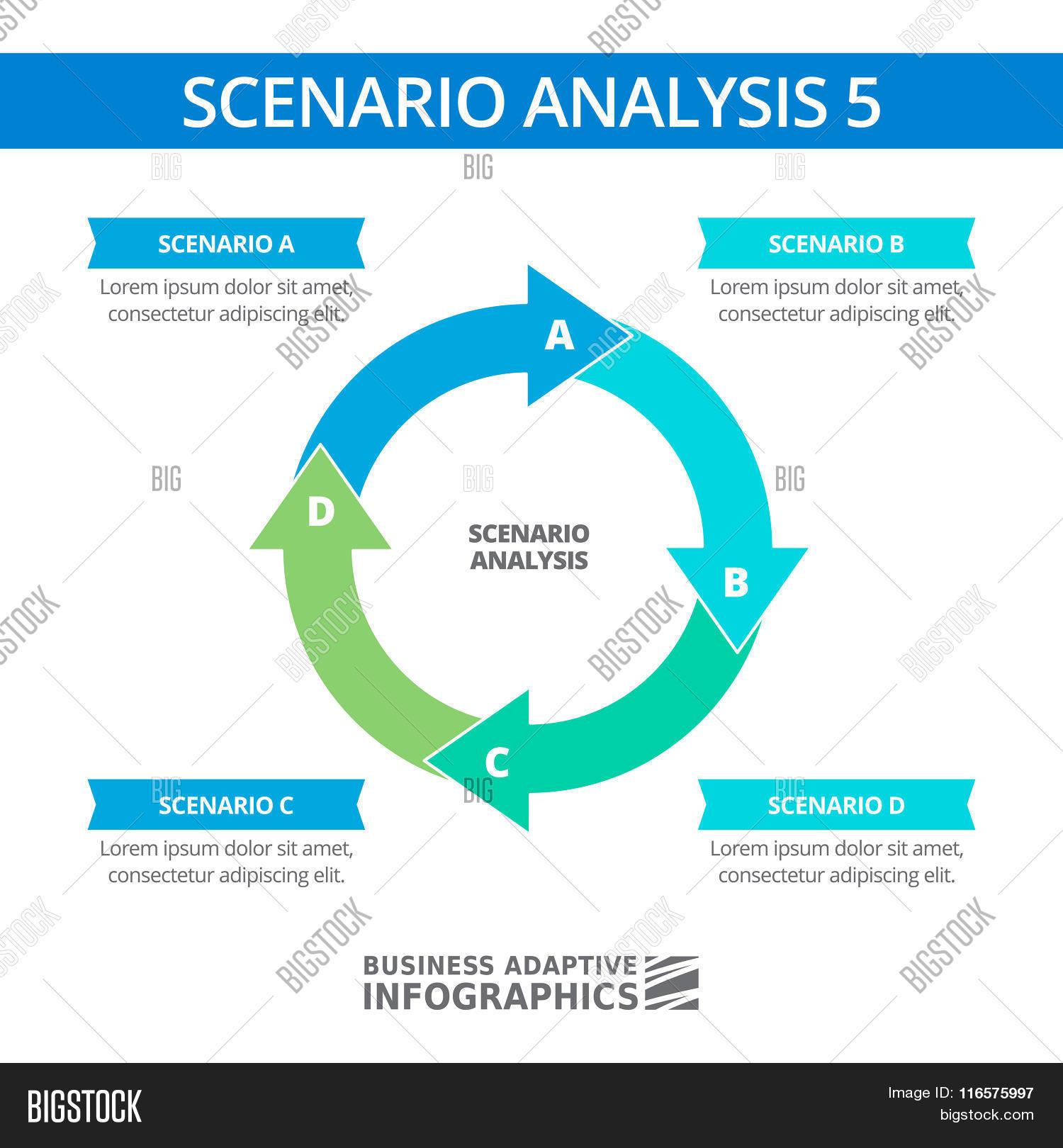 Scenario Analysis Vector & Photo (Free Trial) | Bigstock