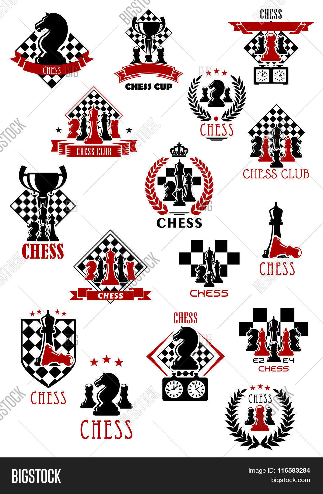 Chess Sport Game Vector Photo Free Trial Bigstock