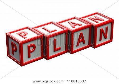 Blocks With Word Plan
