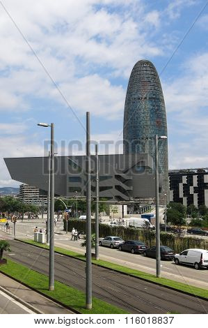Disseny Hub Barcelona Museum And Torre Agbar