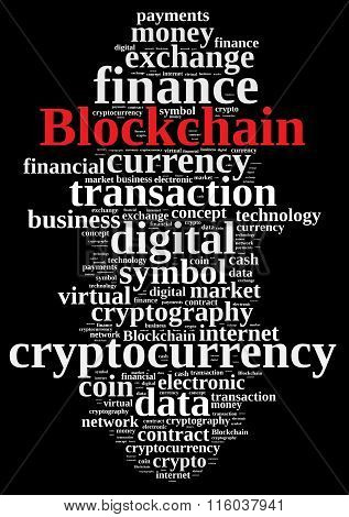 Words Cloud With Blockchain.