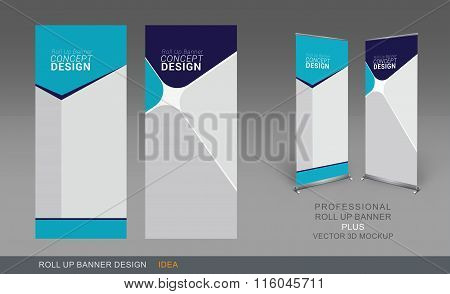 Professional Roll Up Concept 05