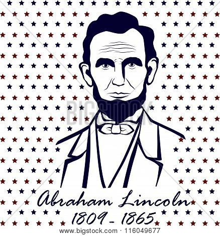Silhouette Abraham Lincoln
