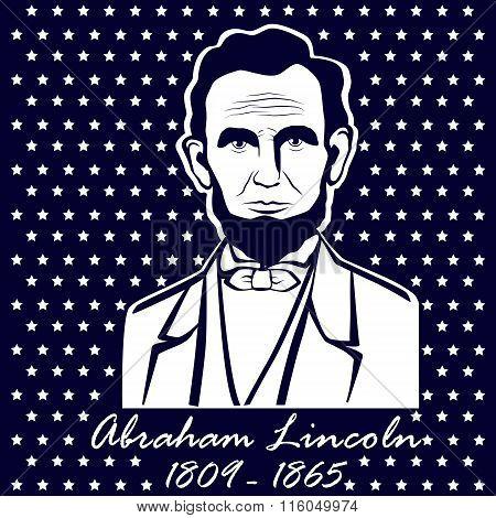 Silhouette Abraham Lincoln