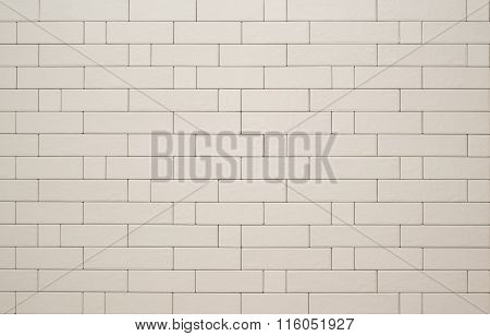 Tiles which imitate brick.