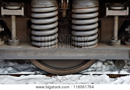 Spring Amortisation On Train Chassis