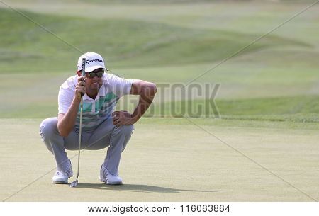 Chris Lloyd At The Golf French Open 2015