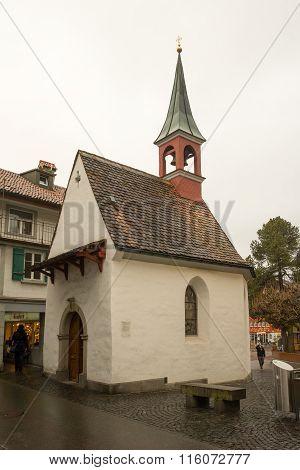 The Heiligkreuzkapelle Church, In Appenzell