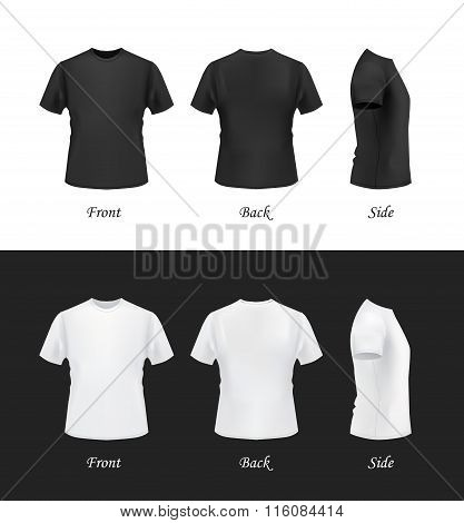T-shirt template set