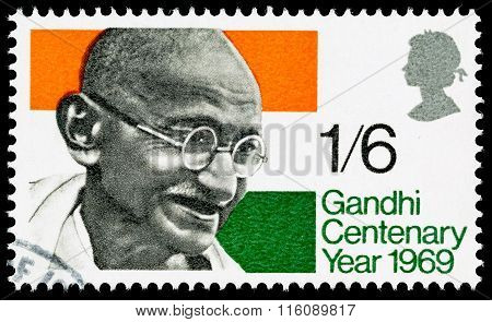 GandhiPostage Stamp