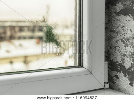 Condensation in windows cause mold and moisture in the house