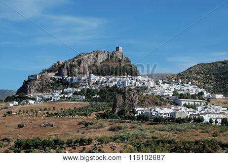 Zahara de la Sierra village.