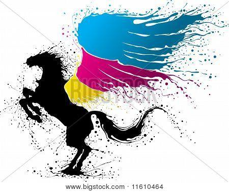 Cmyk Pegasus
