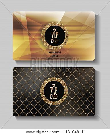 VIP gold cards