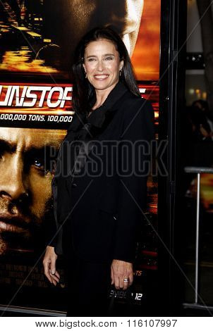 WESTWOOD, CALIFORNIA - October 26, 2010. Mimi Rogers at the Los Angeles premiere of