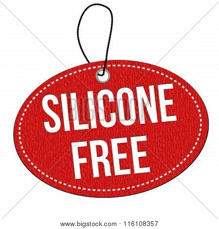Silicone Free Leather Label Or Price Tag