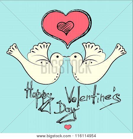 Card valentine's day