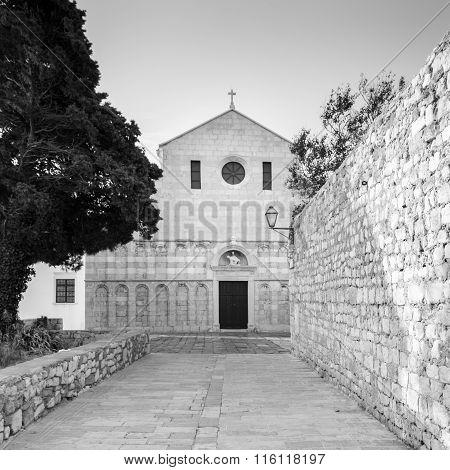 Cathedral Of The Assumption Of The Blessed Virgin Mary In Rab, Croatia.