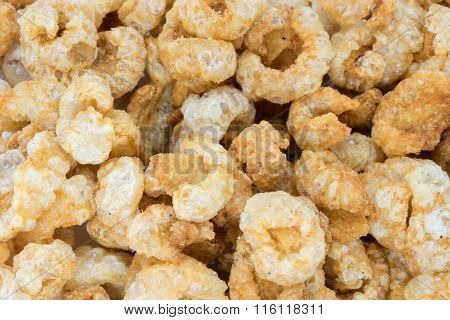 Pork Rinds Or Deep Fried Pork Skin