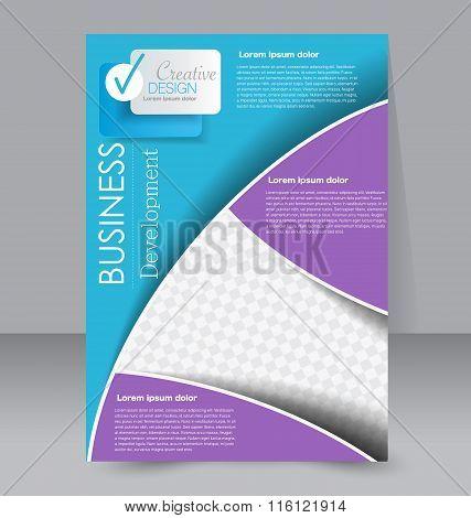 Flyer, Brochure, Magazine Cover Template Design