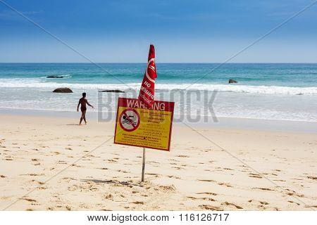 Swimming Prohibited