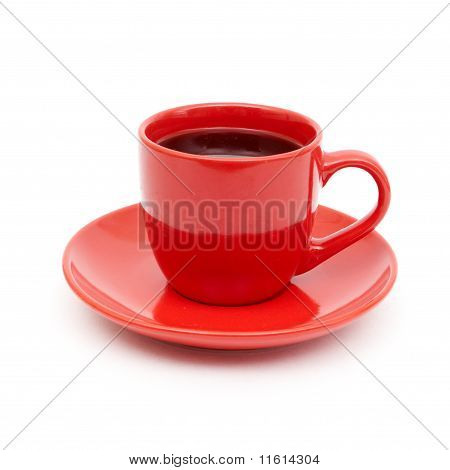 cup of black coffee