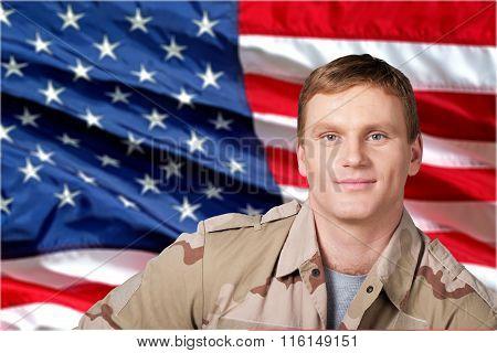 Military Veteran.